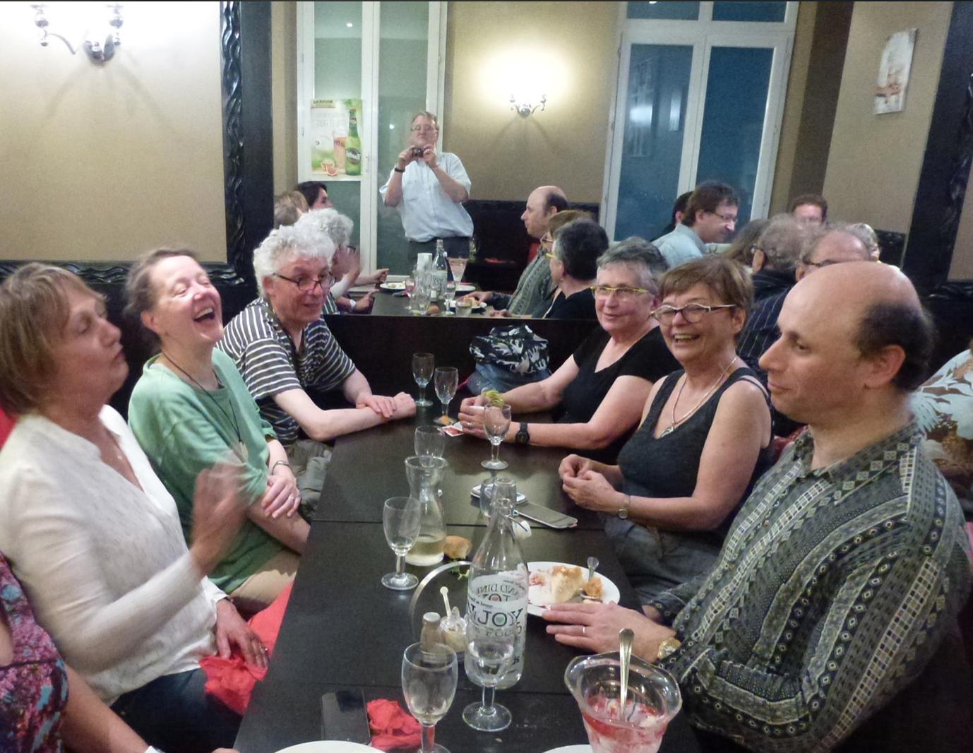 rires entre amis de l'Oulipo, 18 juin 2015