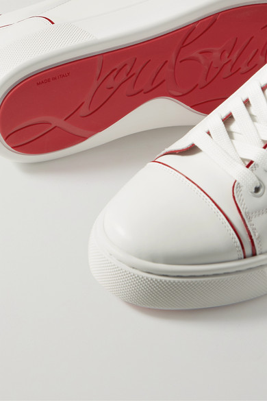 baskets louboutin à la semelle rouge