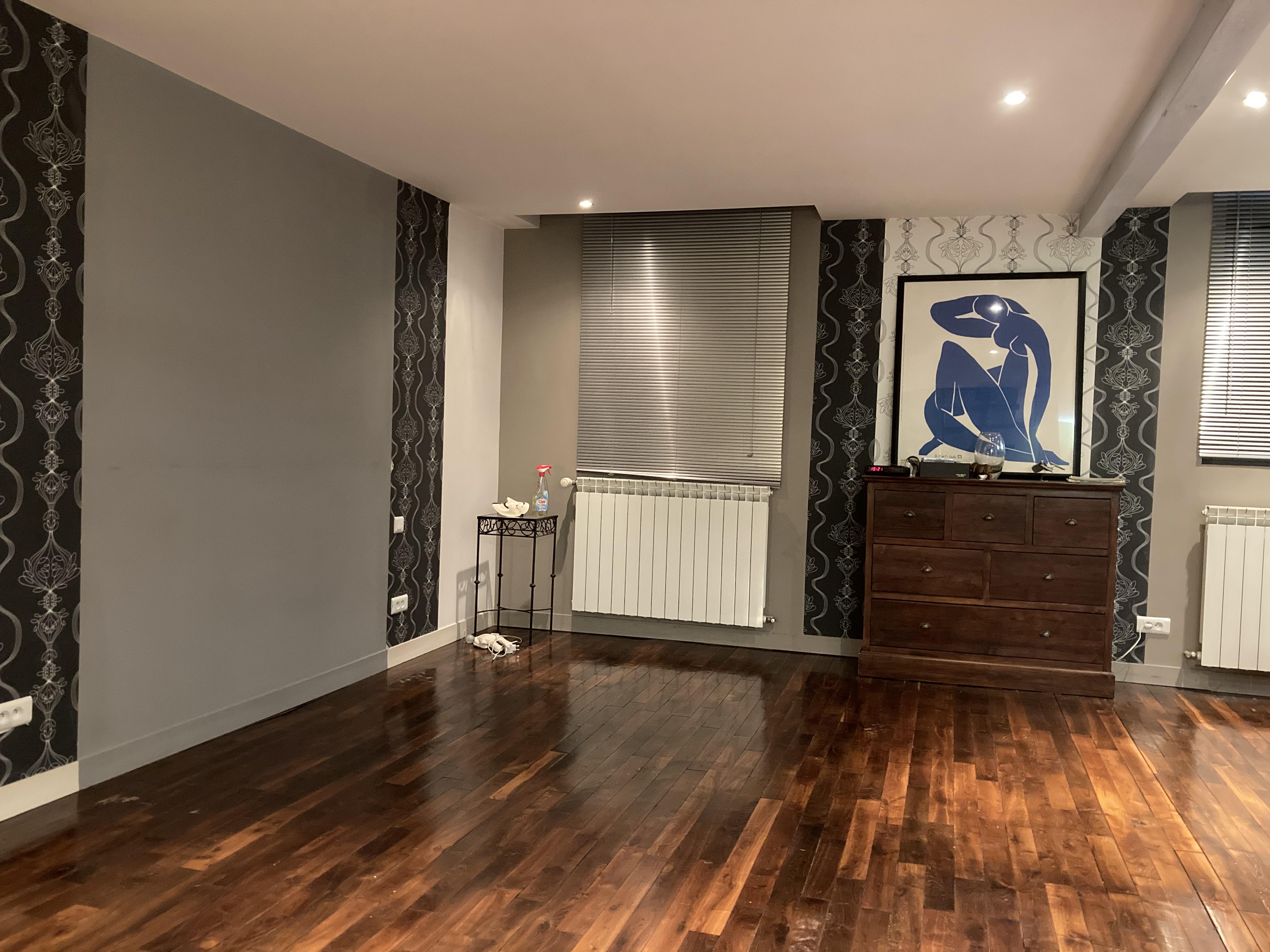 parquet et Nu bleu de Matisse