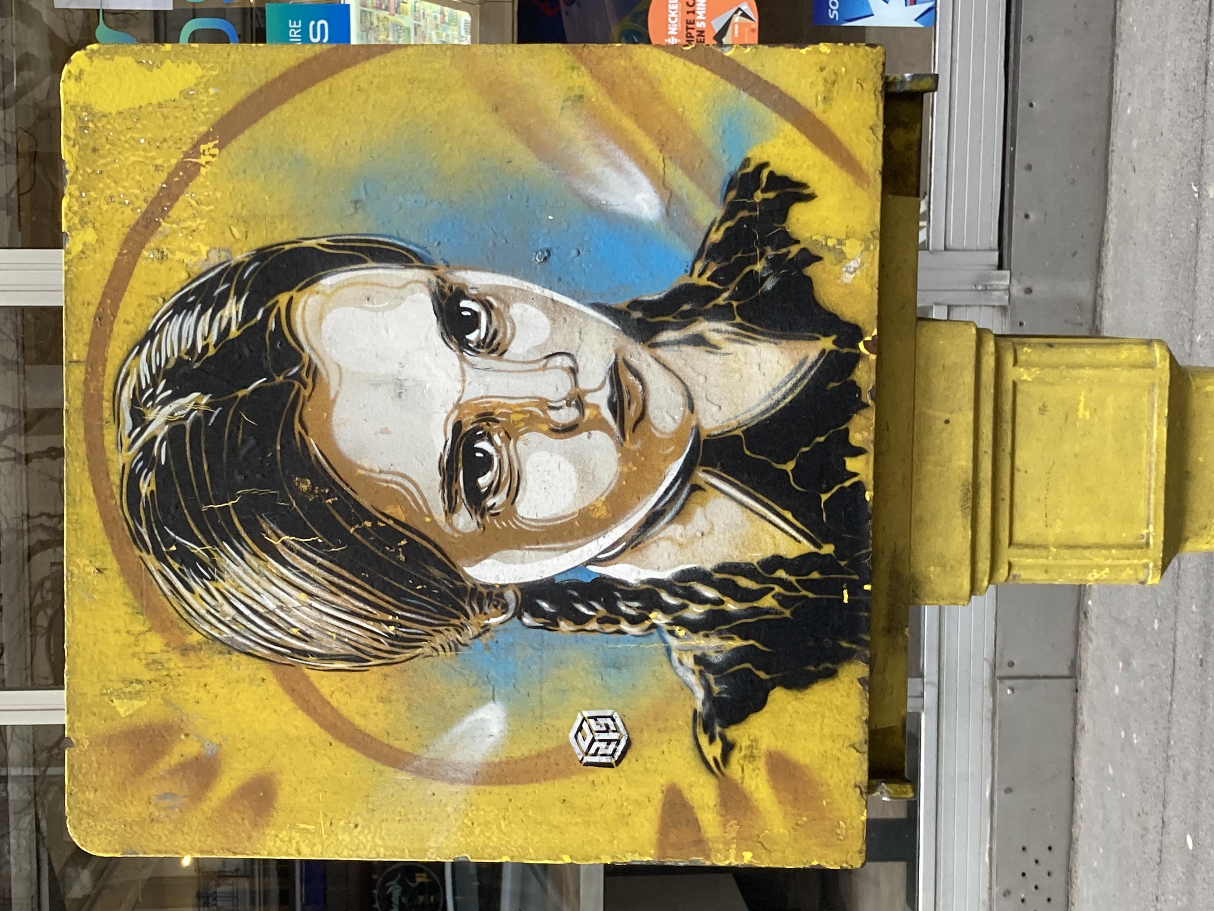portrait de Mercredi Addams