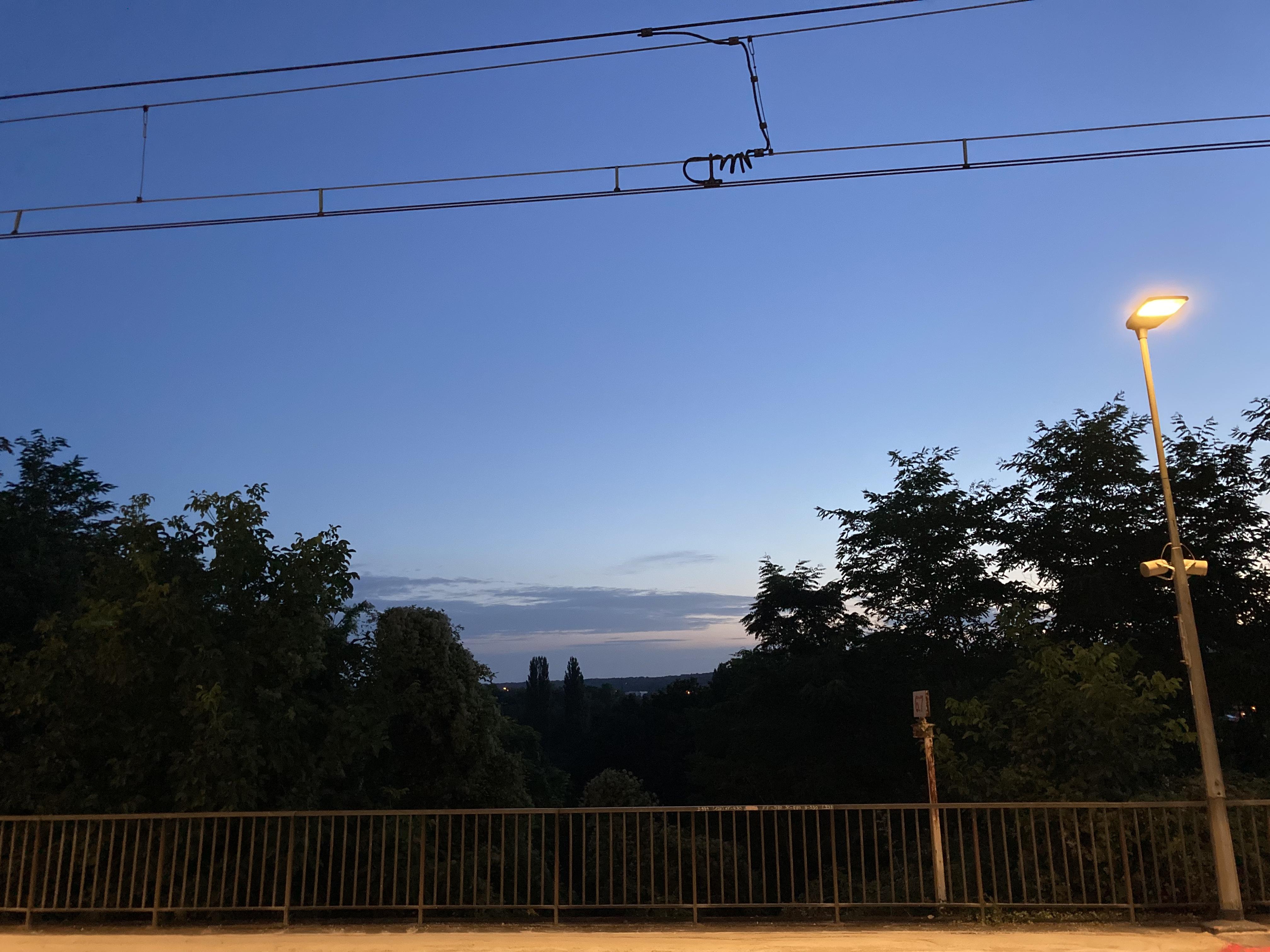 gare Moret/Loing le 6 août à 6h09