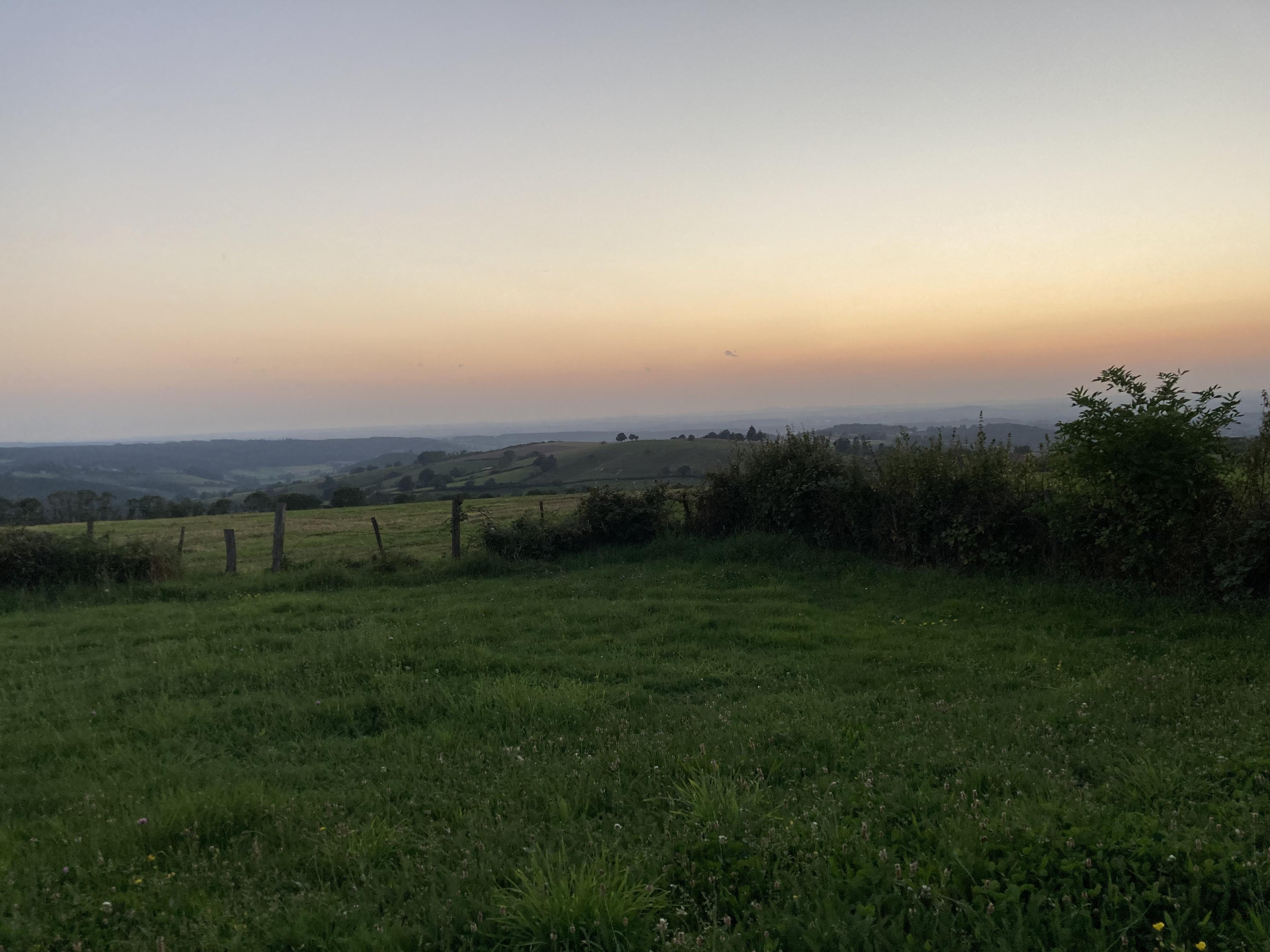 le creusot vue du Mont Saint Vincent-21h05